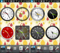 秒針真的會動的桌面小時鐘~ Animated Analog Clock Widget(Android)