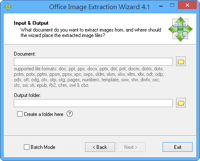 Office Image Extraction Wizard v4.1   一次解出 Word、PowerPoint、Excel 文件中的全部圖檔