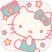 Hello Kitty Collage 官方版凱蒂貓照片拼貼 App(iPhone, Android)