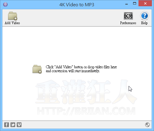 4K Video to MP3 轉檔工具-01