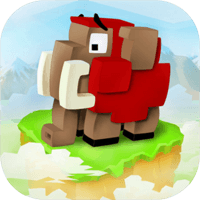 Blocky Castle 3D 立體滾筒式冒險遊戲(iPhone, Android)